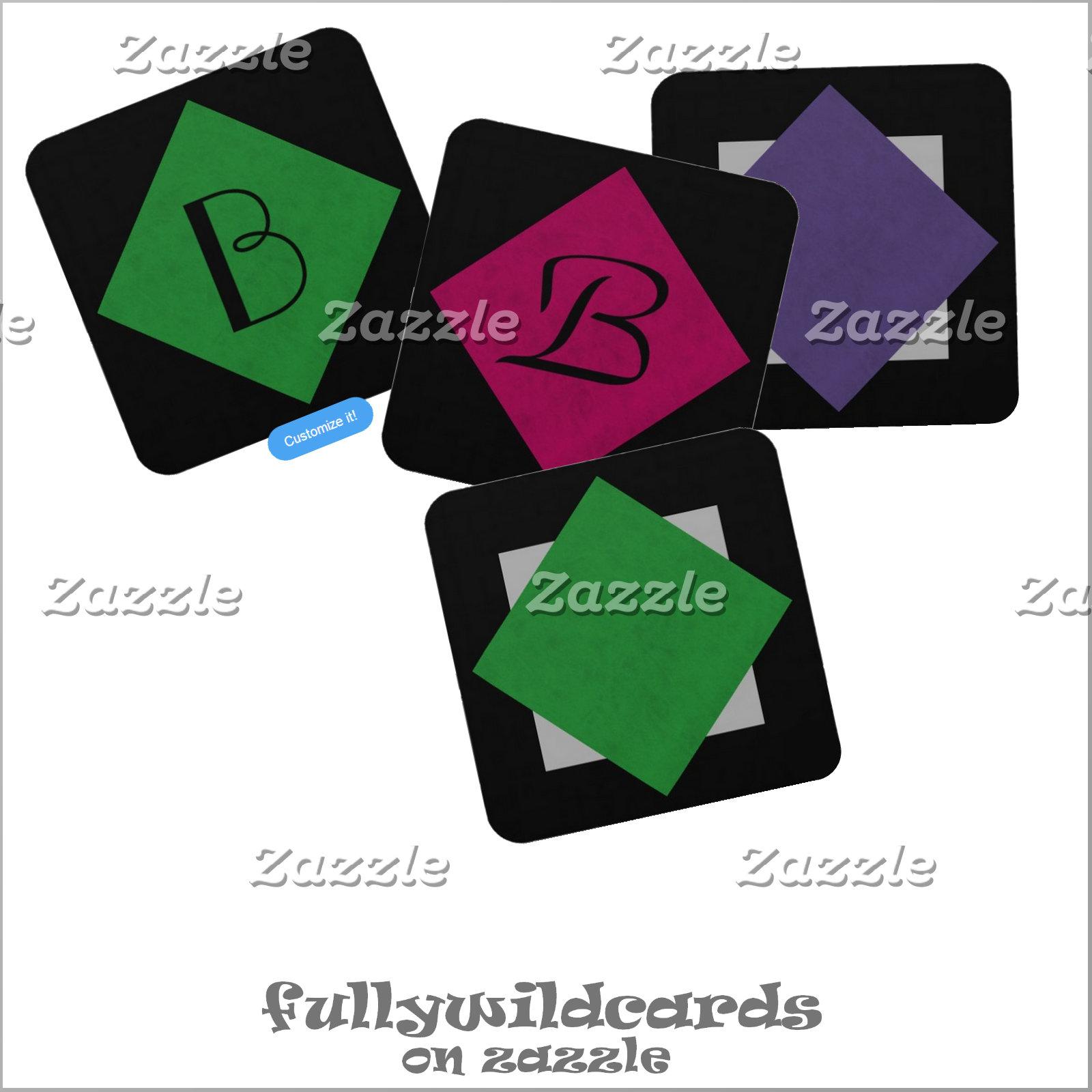 #Casino Style Coasters