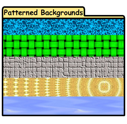 Patterned Backgrounds