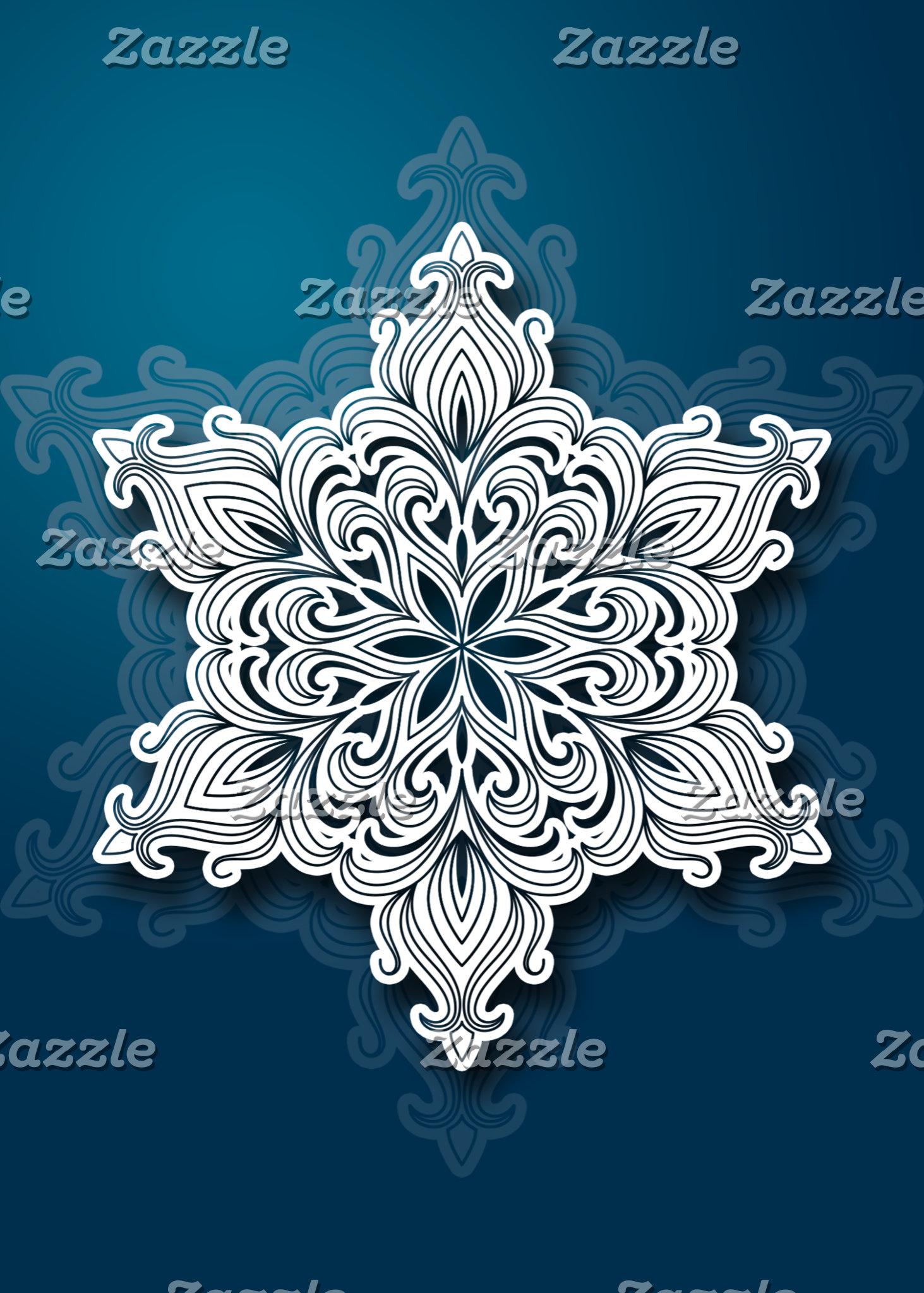 Lacy Snowflake