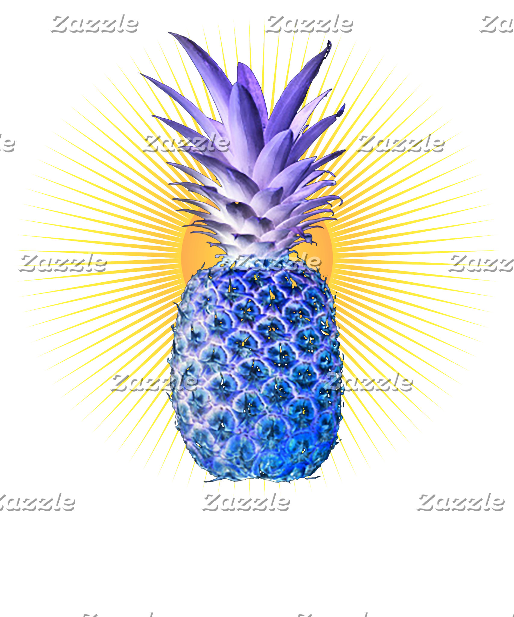 Blue Pineapple Threads