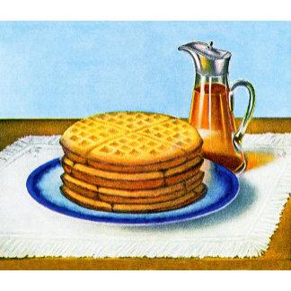 Waffles & Syrup