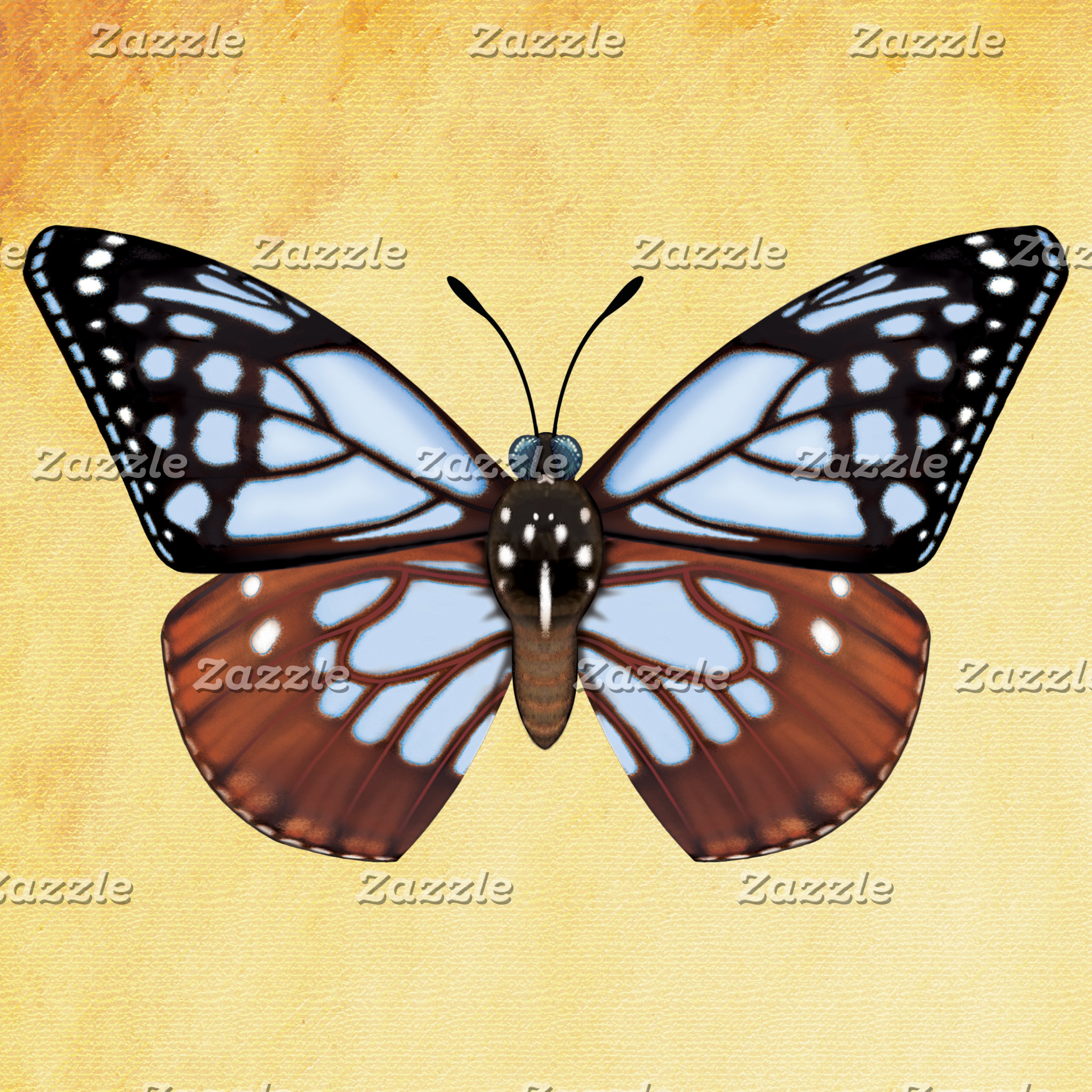 Chestnut Tiger Butterfly