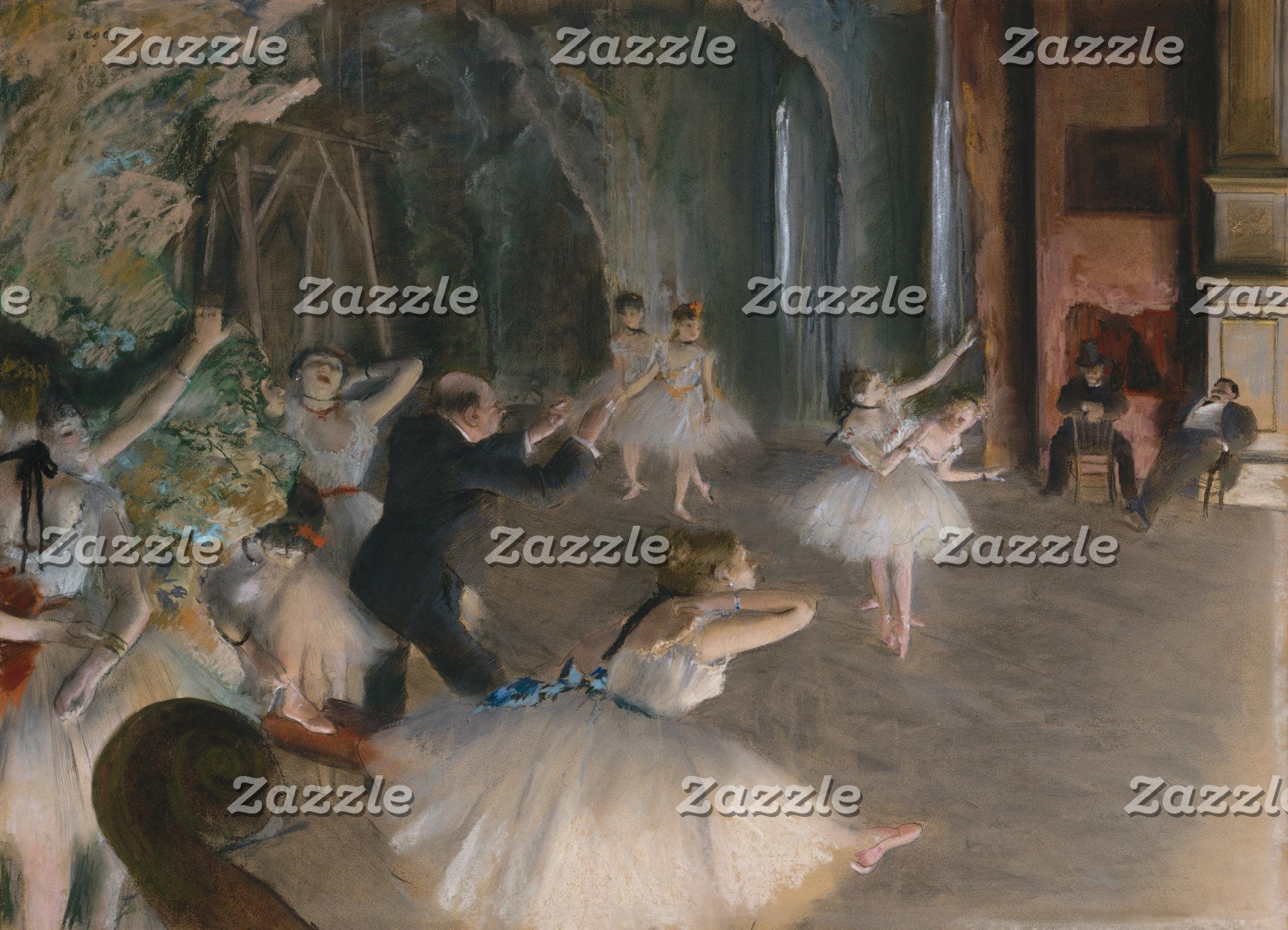 Edgar Degas   Stage Rehearsal