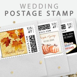 Custom Wedding stamps