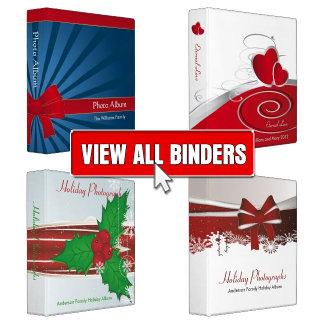 Holiday/Seasonal Binders