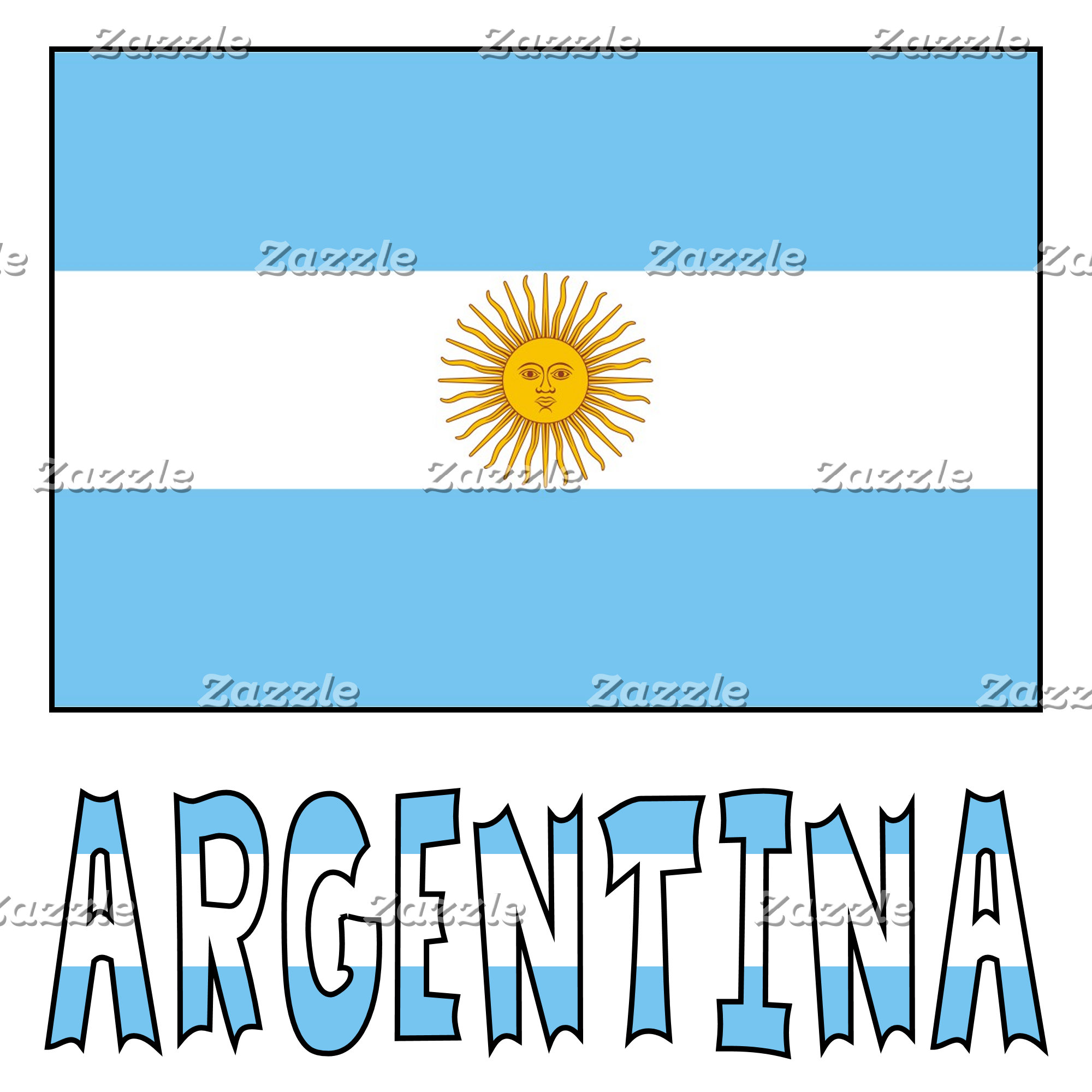 Argentine Flag and Argentina