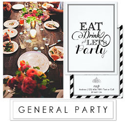GENERAL PARTY INVITATION