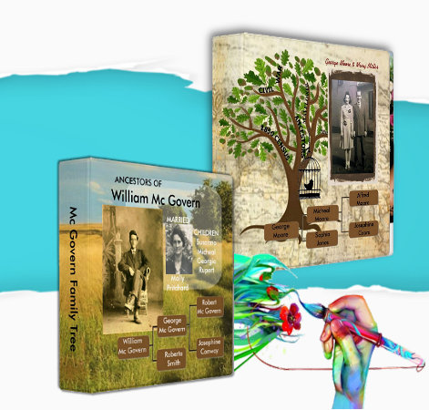 Family Tree Binder Albums