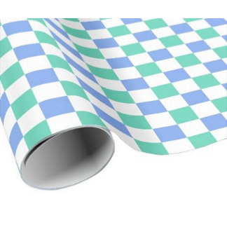 Checkered Pattern Gift Wrap
