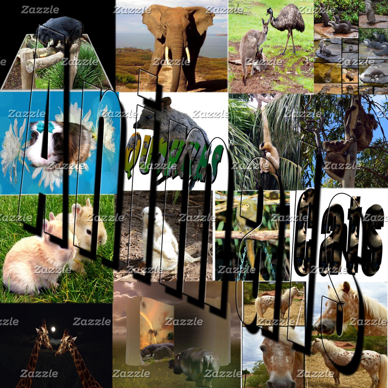 Animals, Meerkat, Horses, Giraffe, Otter, Products