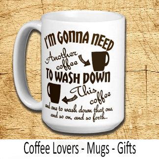 Funny Coffee Lovers Humor