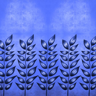 Abstract plant with sharp leaves