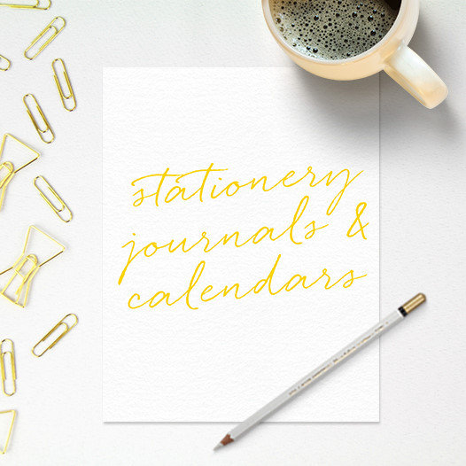 Stationery Journals Calendars