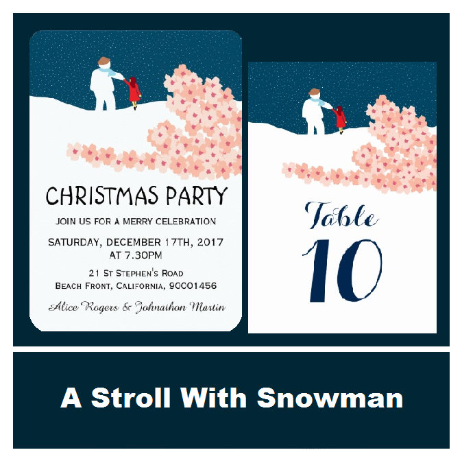 A Stroll With Snowman