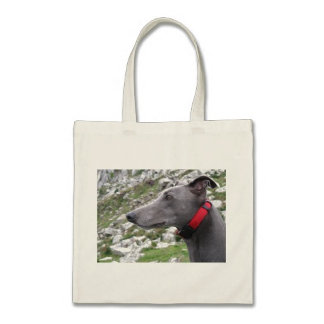 Greyhound tote bags