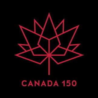 Canada 150 Black and Red
