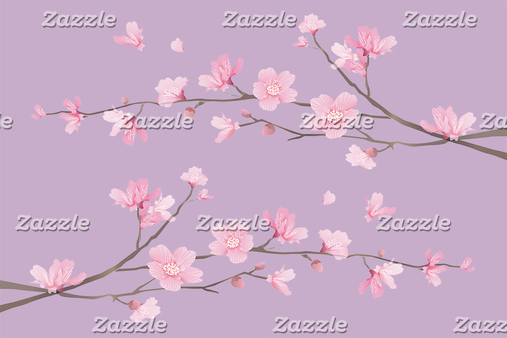 Cherry Blossom - Pale Purple