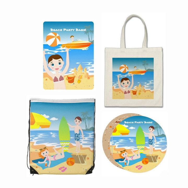 Beach and summer fun kids Birthday Party!