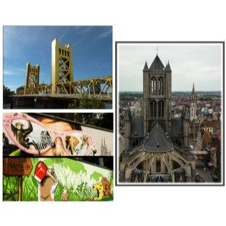 Tourist Postcards