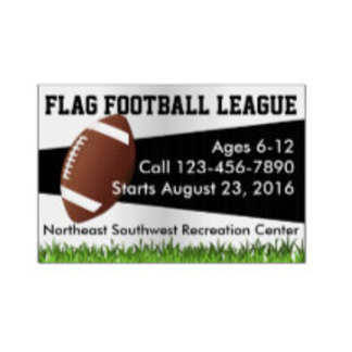 Sports Custom Personalized Yard Signs, Banners