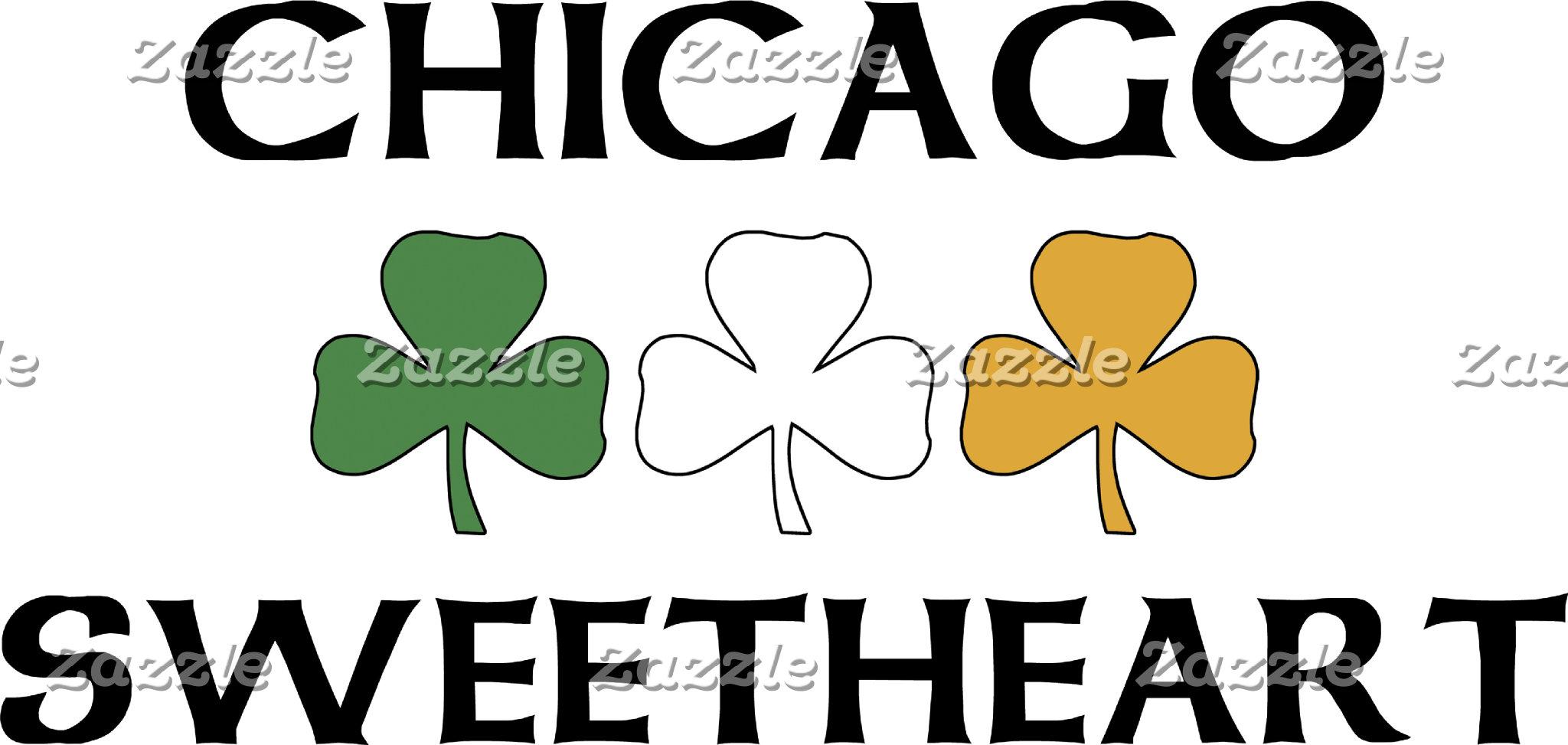 Irish Chicago Sweetheart T-Shirt