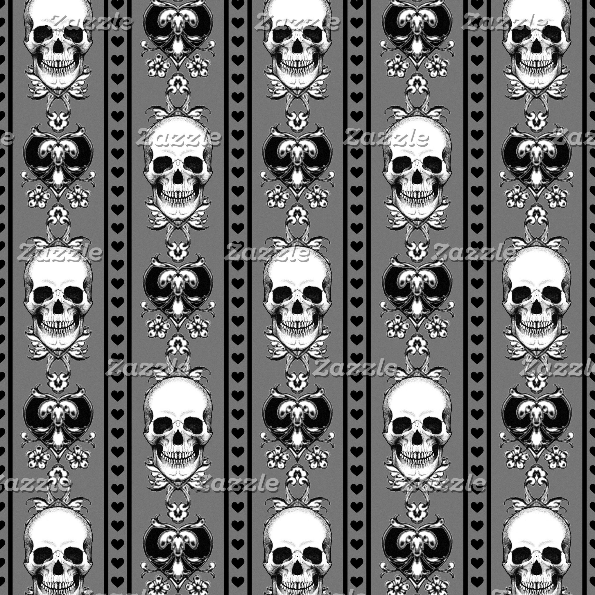 Baroque Skull Pattern