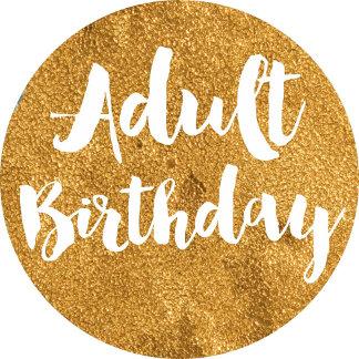 Adult Birthday