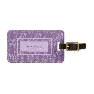 Pretty Purple and Lilac Floral