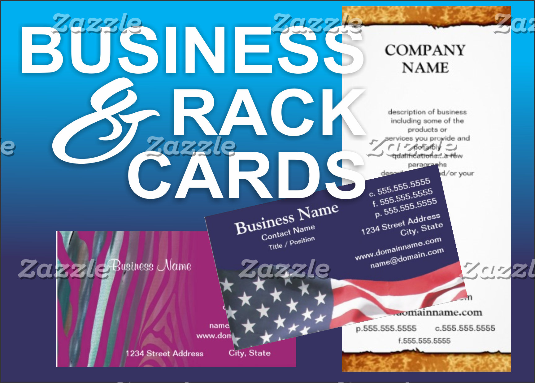 Business / Rack Cards