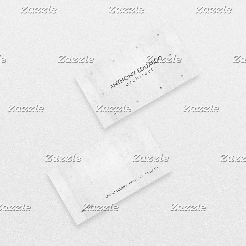 Architect professional modern gray concrete simple