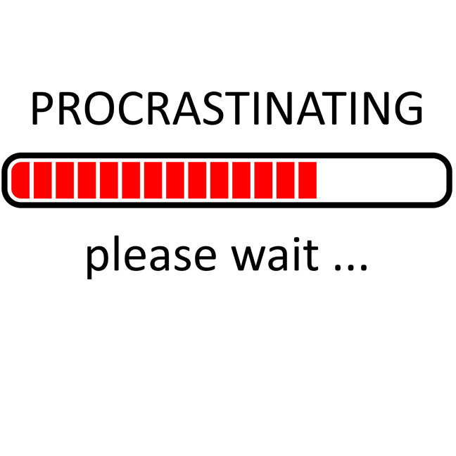 Procrastinating Please Wait