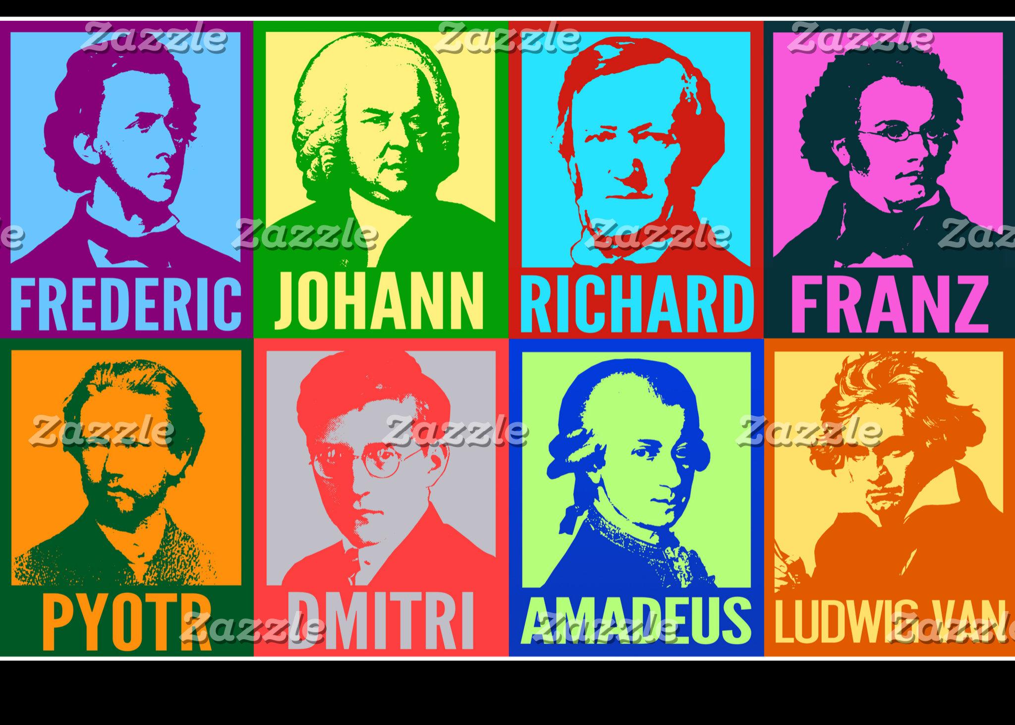 Pop Art Composers