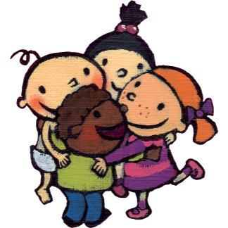 Group Hug with Friends