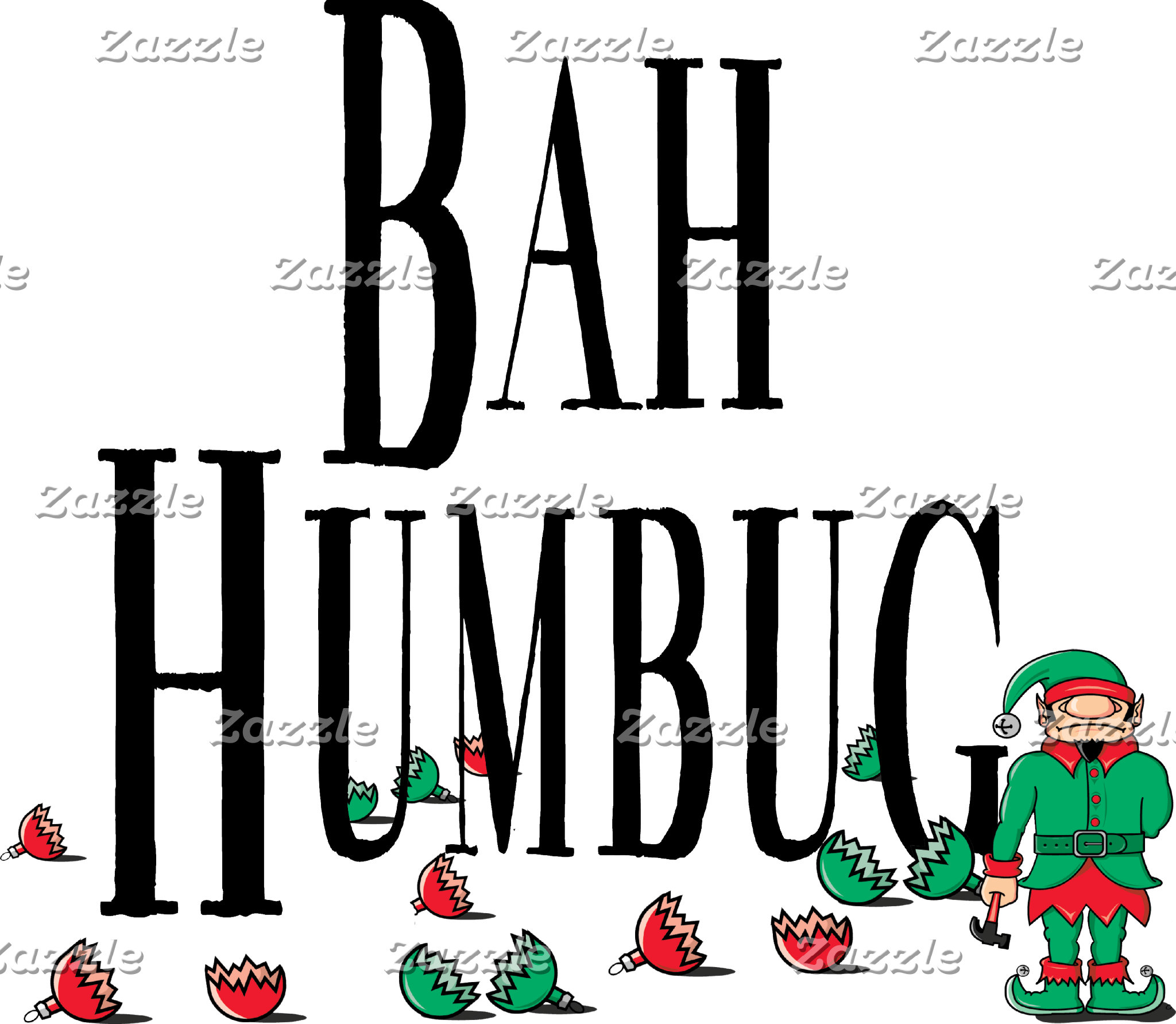 Bah Bumbug T Shirt Sweatshirt Gift Cards