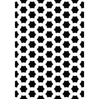 Black & White Patterns | Hexagons VI