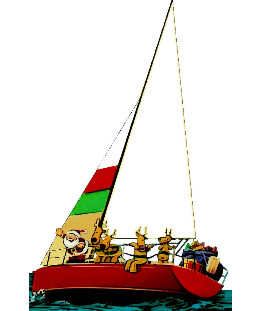 Christmas Sailing Shirts & Gifts
