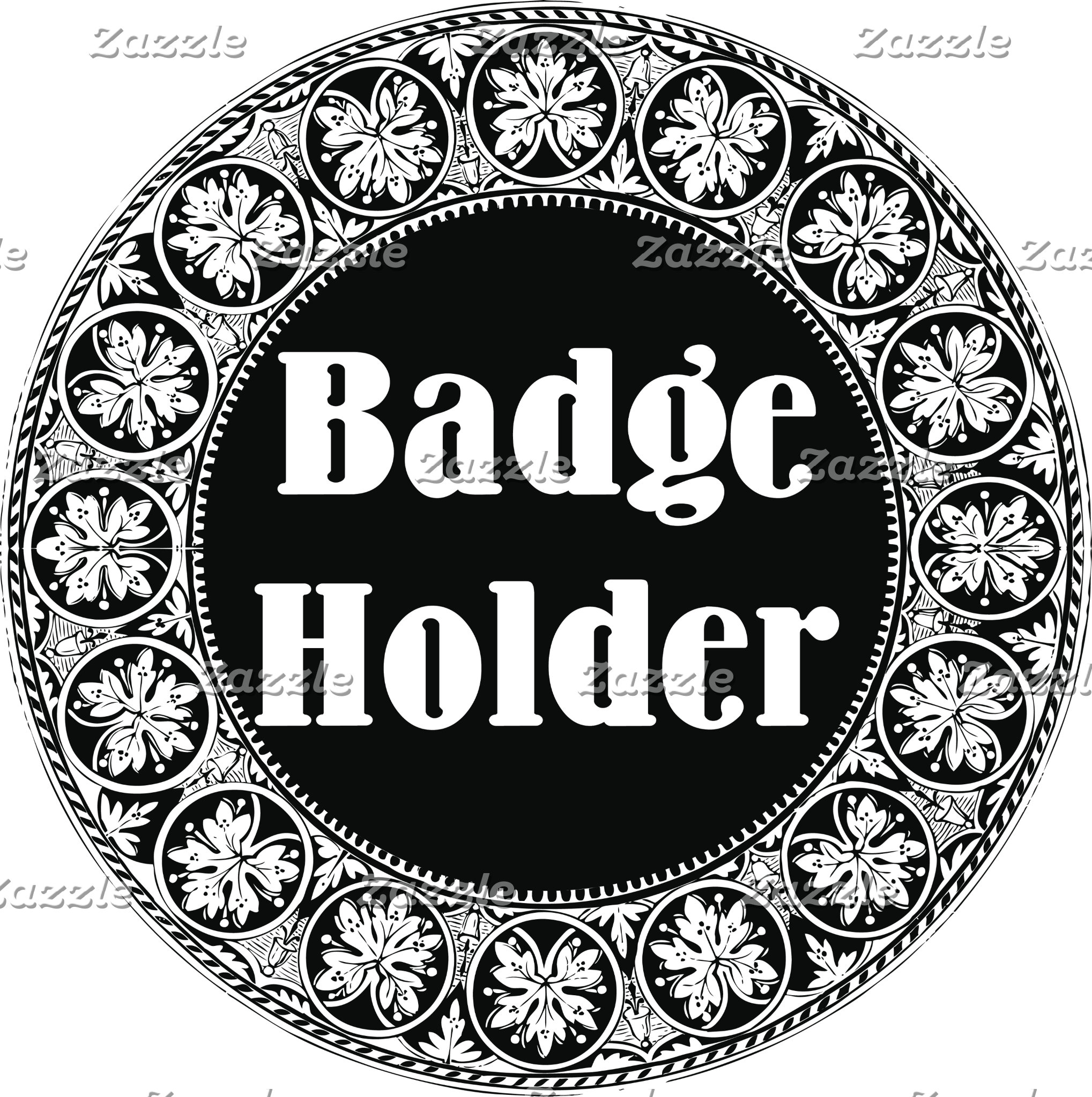 Badges and Badge Holders