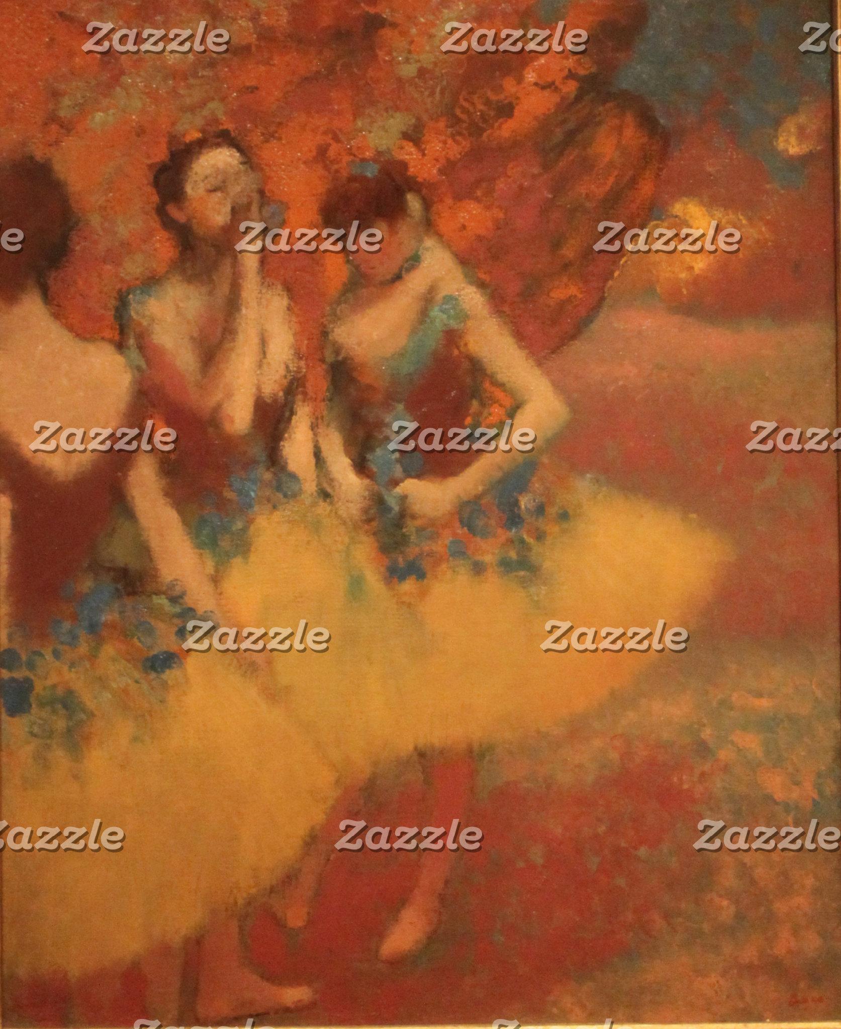 Edgar Degas   Dancers in Yellow Skirts