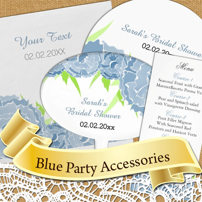 Blue Theme Party