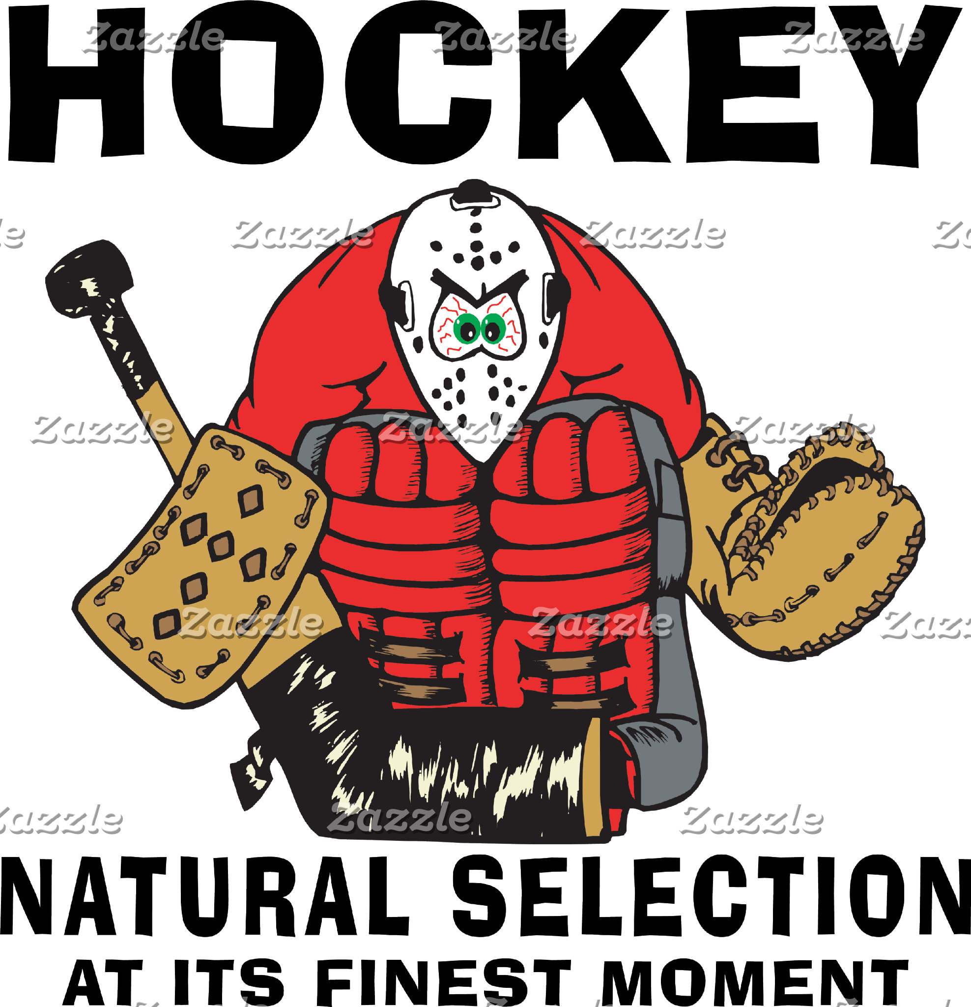 Funny Hockey Goalie T-Shirt Gifts