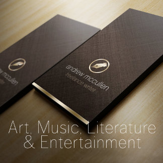 Arts, Literature, Music and Entertainment