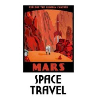 Vintage Space Travel Posters