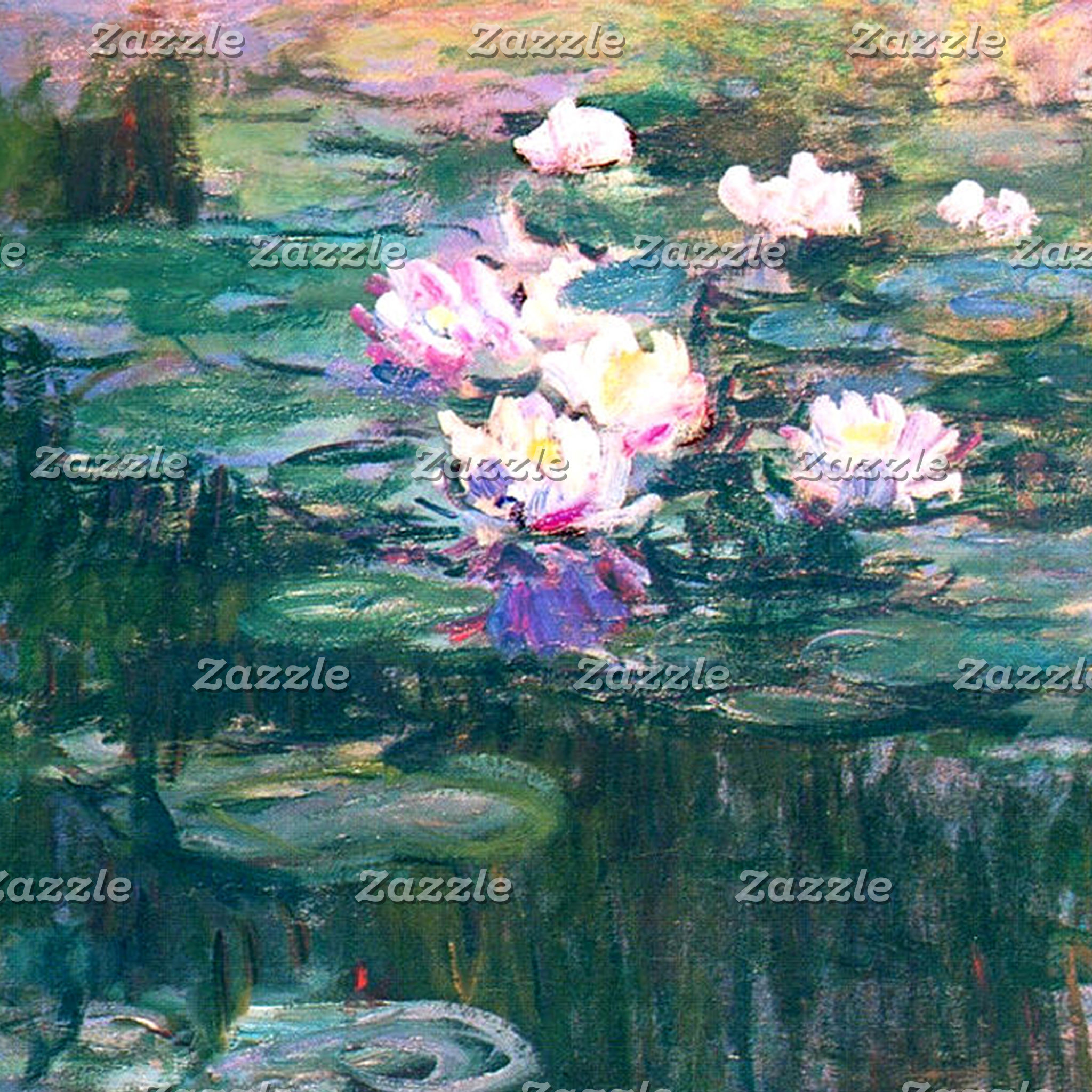 Fine Art Water Lily Home