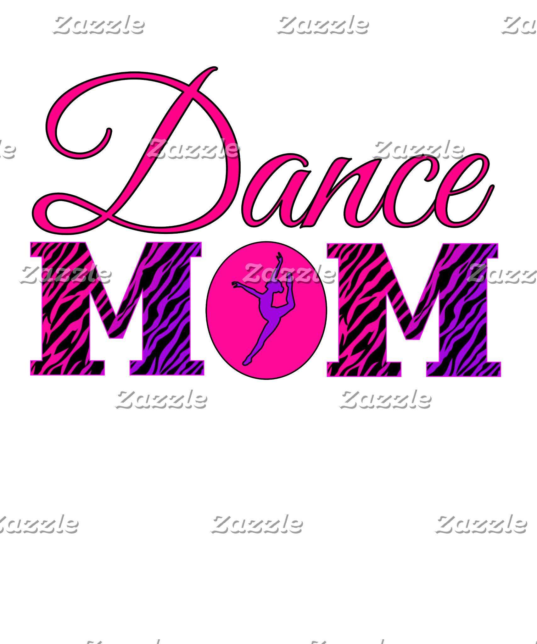 Dance Mom Zebra Print