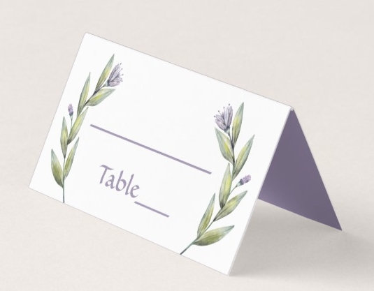 ESCORT / PLACE CARDS