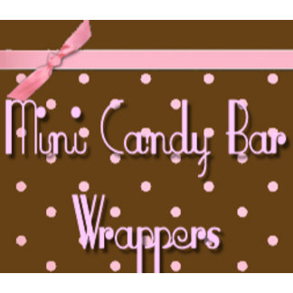 Miniature Candy Bar Wrappers