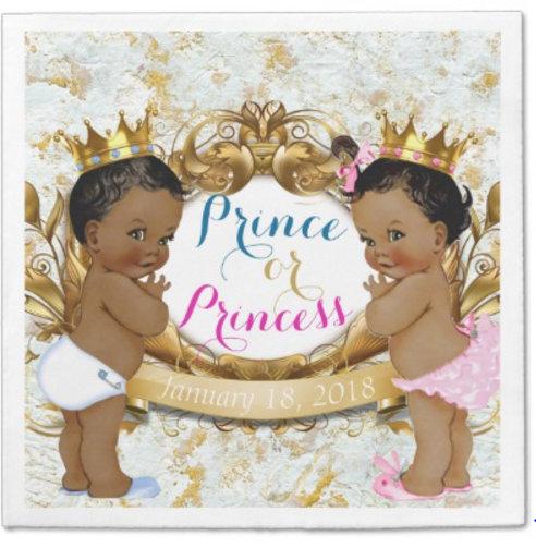 Royal African Gender Reveal {Prince Or Princess}