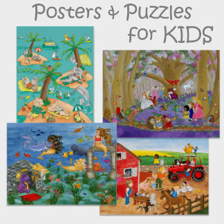 Posters & Puzzles for Kids