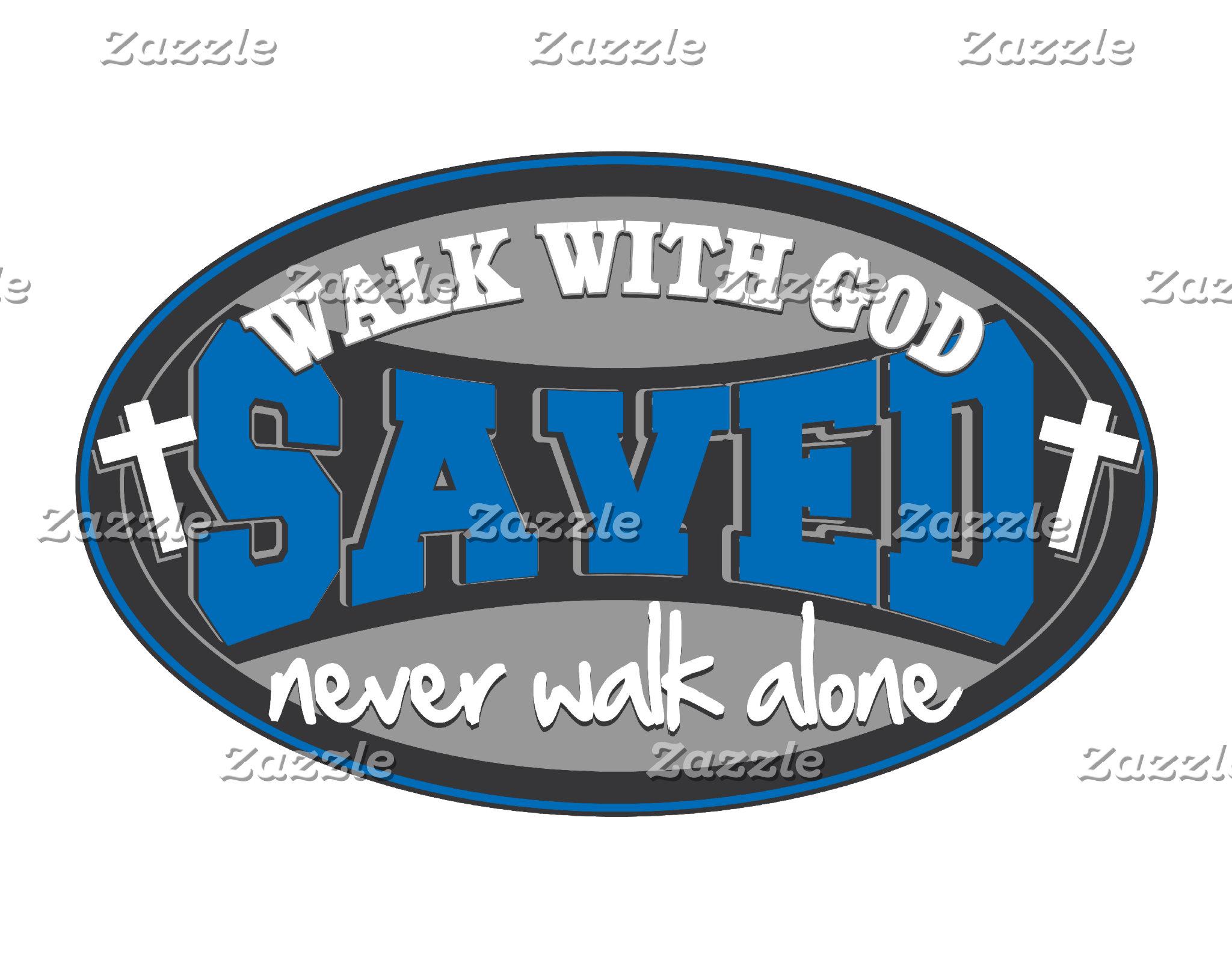 Walk With God(Blue)