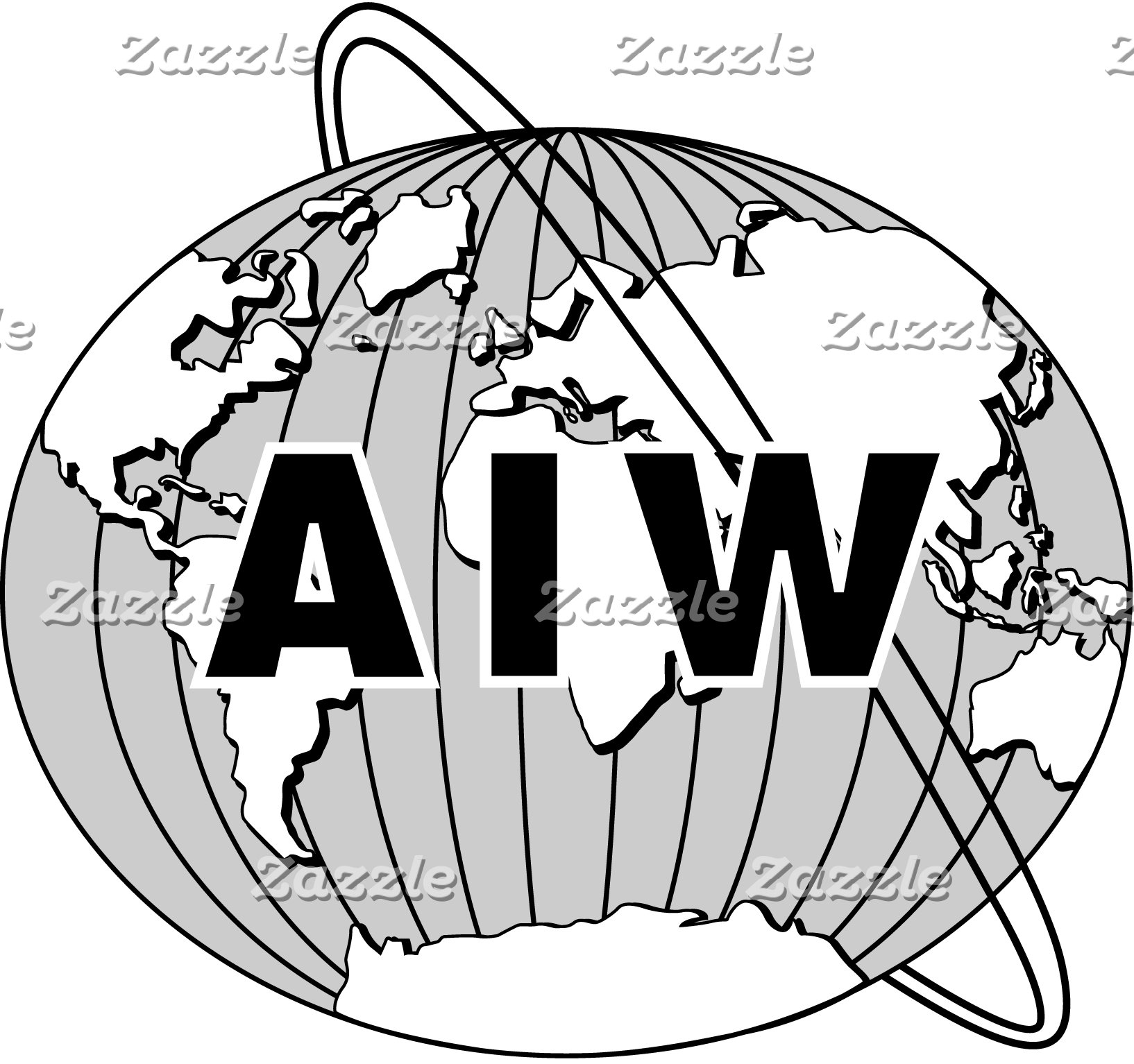 Designs with AIW Logo